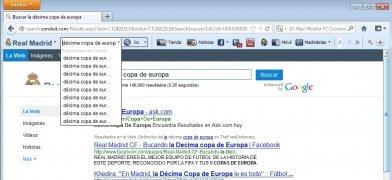 Real Madrid FC Toolbar imagen 2 Thumbnail