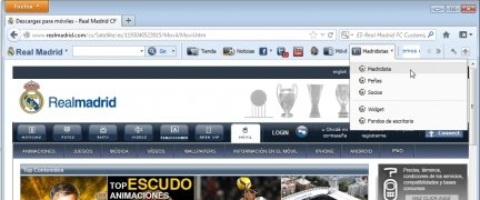 Real Madrid FC Toolbar image 5 Thumbnail