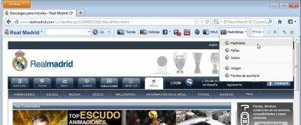 Real Madrid FC Toolbar imagem 5 Thumbnail