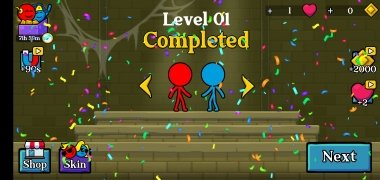 Red and Blue Stickman imagen 3 Thumbnail