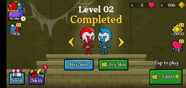 Red and Blue Stickman imagen 9 Thumbnail