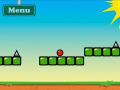 Red Bouncing Ball Spikes Изображение 2 Thumbnail