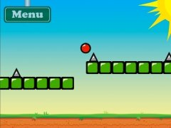 Red Bouncing Ball Spikes Изображение 3 Thumbnail
