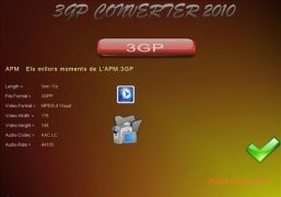 Reganam 3GP Converter imagen 4 Thumbnail
