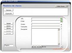 Registro de claves imagen 1 Thumbnail