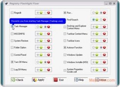 Registry Flashlight Fixer imagen 3 Thumbnail