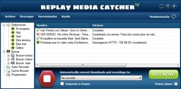 Replay Media Catcher imagen 1 Thumbnail
