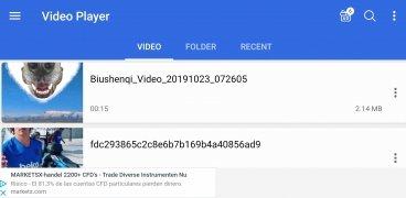 Reproductor de vídeo imagen 1 Thumbnail