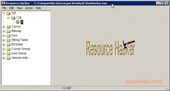 Resource Hacker imagen 1 Thumbnail
