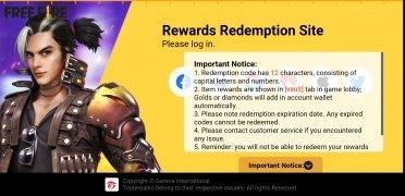 Rewards FF Garena imagen 3 Thumbnail