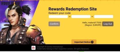 Rewards FF Garena imagen 4 Thumbnail