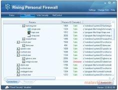 Rising Personal Firewall image 2 Thumbnail