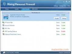 Rising Personal Firewall imagen 3 Thumbnail