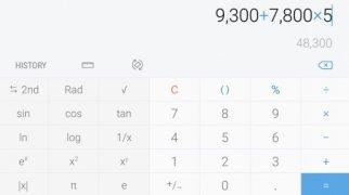 Samsung Calculator imagem 3 Thumbnail