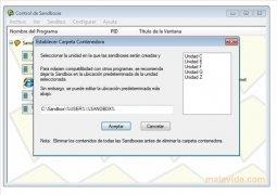 Sandboxie  4.16 Español imagen 2