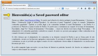 Saved Password Editor imagen 3 Thumbnail