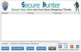 Secure Hunter Anti-Malware immagine 3 Thumbnail