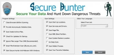 Secure Hunter Anti-Malware imagen 4 Thumbnail