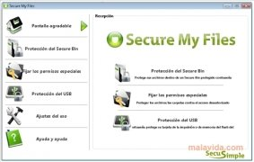 Secure My Files bild 1 Thumbnail