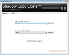 Shadow Copy Cloner image 3 Thumbnail