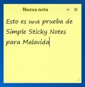 Simple Sticky Notes imagen 3 Thumbnail