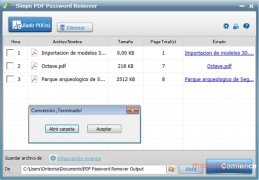 Simpo PDF Password Remover immagine 2 Thumbnail