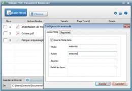 Simpo PDF Password Remover immagine 4 Thumbnail