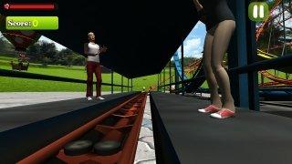 Simulador de montaña rusa loca imagen 3 Thumbnail