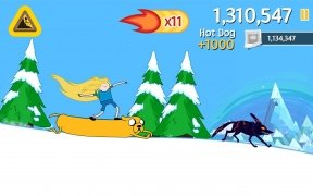 Ski Safari: Adventure Time imagen 4 Thumbnail