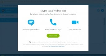 Skype para Web imagen 1 Thumbnail