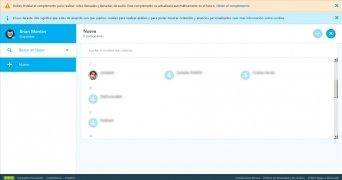 Skype para Web imagen 2 Thumbnail