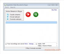 Skype Video Call Recorder Изображение 1 Thumbnail