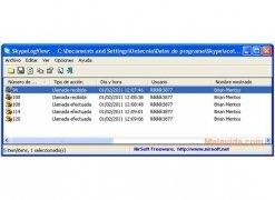 SkypeLogView imagen 1 Thumbnail