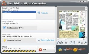 SmartSoft Free PDF to Word Converter immagine 2 Thumbnail