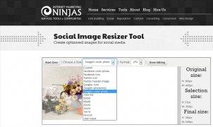 Social Image Resizer Tool immagine 2 Thumbnail