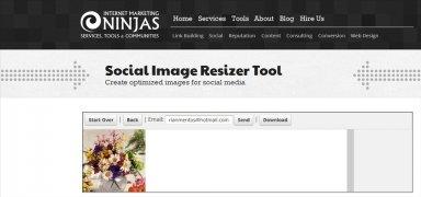 Social Image Resizer Tool immagine 3 Thumbnail