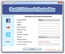 Social Network Controller image 3 Thumbnail
