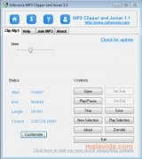 Sofonesia MP3 Clipper and Joiner immagine 1 Thumbnail