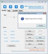 Sofonesia MP3 Clipper and Joiner immagine 4 Thumbnail