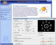 Solar System 3D Screensaver image 3 Thumbnail