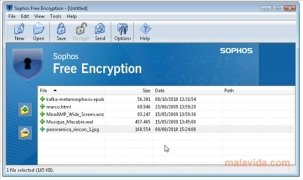Sophos Free Encryption image 1 Thumbnail