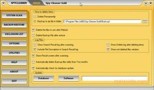 Spy Cleaner Gold imagem 2 Thumbnail