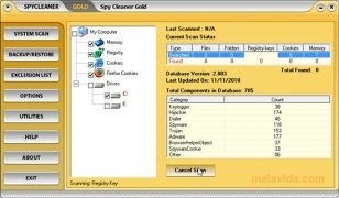 Spy Cleaner Gold imagem 4 Thumbnail