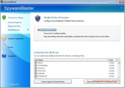 SpywareBlaster imagem 2 Thumbnail
