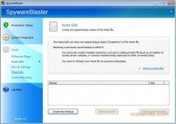 SpywareBlaster imagem 3 Thumbnail