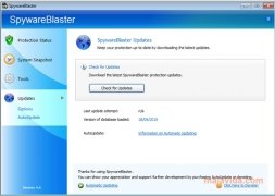 SpywareBlaster imagen 4 Thumbnail