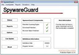 SpywareGuard imagen 1 Thumbnail