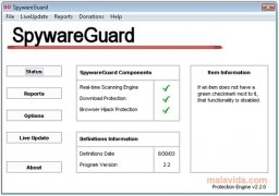 SpywareGuard image 1 Thumbnail