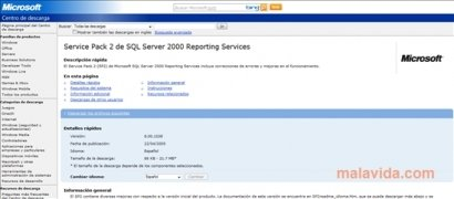 SQL Server 2000 SP2 image 2 Thumbnail
