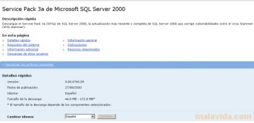 SQL Server 2000 SP3a image 2 Thumbnail
